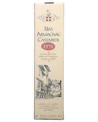 Castarede 1970 Armagnac 700mL Castarède bottle 3