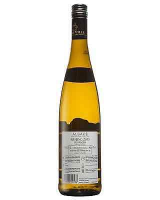 Cave De Ribeauvillé Riesling 2013 case of 12 Dry White Wine 750mL Alsace 2