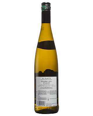 Cave De Ribeauville Riesling 2011 bottle Dry White Wine 750mL Alsace 2
