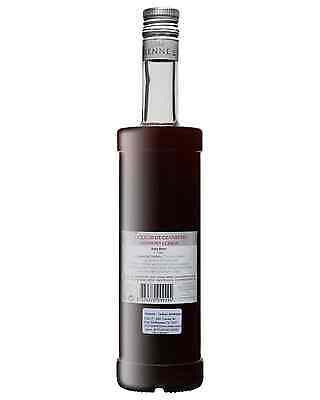 Vedrenne Liqueur de Cranberry 700mL case of 6 Fruit Liqueurs Burgundy 2