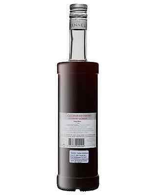 Vedrenne Liqueur de Cranberry 700mL case of 6 Fruit Liqueurs Burgundy 2