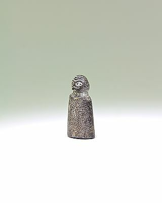Fine Provenance and Rare Ancient Near Eastern Eye Idol - 4000 BC 2