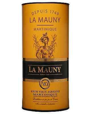 La Mauny VO Rhum Aged 3+ years 700mL bottle Rhum Agricole Dark Rum