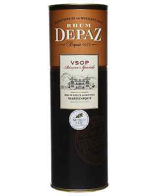 Depaz VSOP Reserve Speciale Rhum Agricole 7 Years Old 700mL case of 6 Dark Rum 3