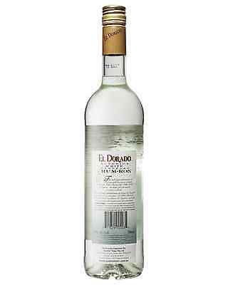 El Dorado Superior White Rum 750mL bottle 2