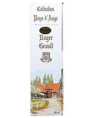 Roger Groult Reserve Calvados Pays d'Auge 3 Years Old 700mL case of 6 3