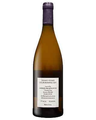 Mark Angeli Les VV des Blanderies 2011 bottle Chenin Blanc Dry White Wine 750mL