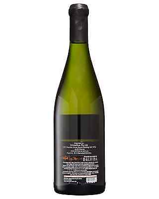 Dalvina Chardonnay Barrique 2014 case of 6 Dry White Wine 750mL