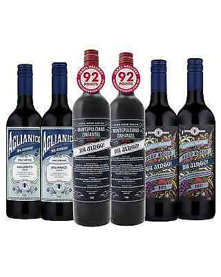 By Jingo! Mixed Red Pack Mixed Reds Dry Red Wine 750mL 4