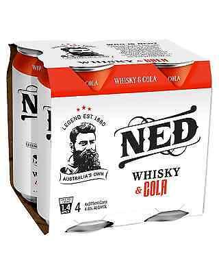 Ned Whisky & Cola 375mL case of 24 Premix Drinks Australia 2