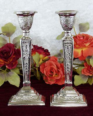 Kerzenleuchter Barock Set Leuchter Kerzenständer Kandelaber Kerzenhalter edel 2