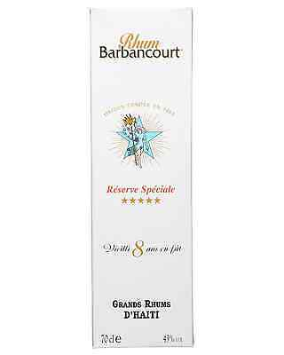 Barbancourt 5 Star Old Rum 8 Years Old 700mL bottle Dark Rum 3