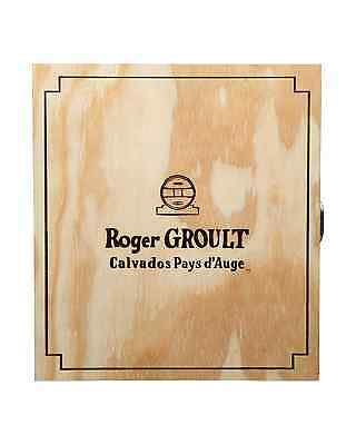 Roger Groult Calvados Pays d'Auge 20+ Years Old Carafe & Wooden Box 700mL bottle 3