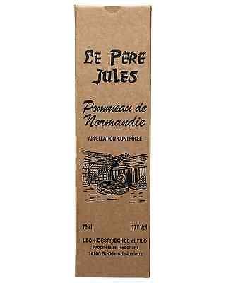 Le Pere Jules Pommeau de Normandie Aperitif 5 Years Old 700mL bottle Liqueur 3