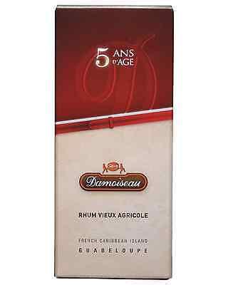 Damoiseau Vieux Rhum Agricole 5 Years Old Carafe & Gift Box 700mL case of 6 3