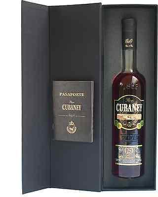 Cubaney Treasure 25 year old 700mL bottle Rum Dark Rum 2