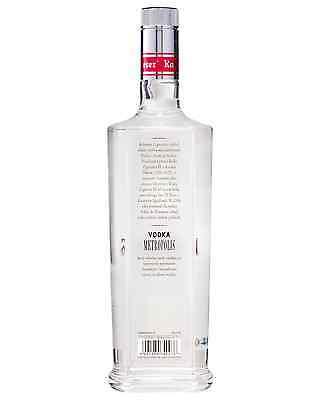 Metropolis Vodka 700ml bottle