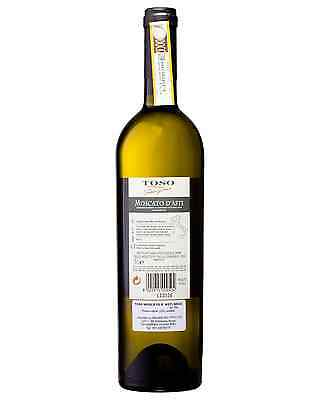 Toso Moscato D'Asti case of 6 Sparkling Sweet Wine Non Vintage 750mL 2