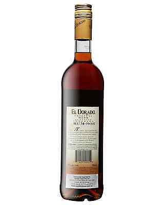 El Dorado Superior Dark Rum 750mL bottle 2