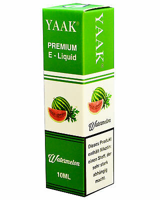 Liquid 10 x 10 ml - YAAK® Premium E-Liquid Mix 15 in versch. Nikotinstärken