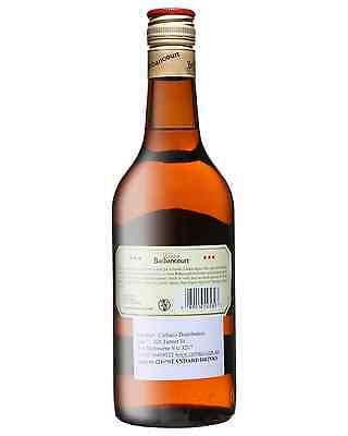 Barbancourt 3 Star Old Rum 4 Years Old 700mL case of 6 Dark Rum 2