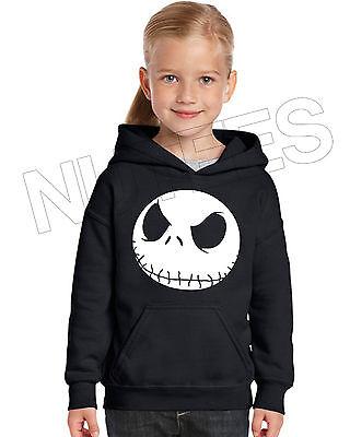 Nightmare Before Christmas Jack, Kids Unisex Hooded Sweatshirt Jumper Hoodie 2