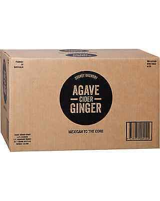 Sydney Brewery Agave Ginger Cider case of 24 Fruit Flavoured Cider 330mL 4