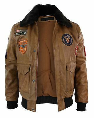blouson homme cuir v ritable air force aviateur bomber. Black Bedroom Furniture Sets. Home Design Ideas