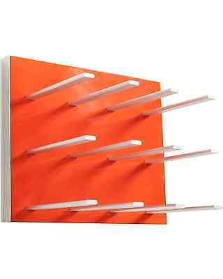 STACT Wine Rack, Electric Orange Bar Accessories