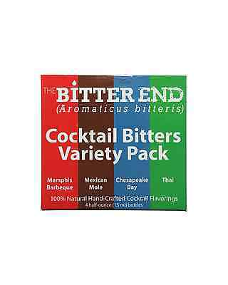 The Bitter End Variety Pack 4x15mL bottle Bitters 2