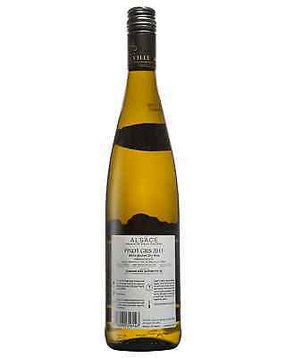 Cave De Ribeauville Pinot Gris 2011 case of 6 Dry White Wine 750mL Alsace