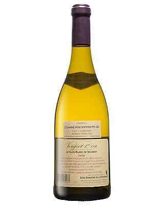 Domaine De La Vougeraie Clos Blanc De Vougeot 1er Cru 2008 case of 6 Chardonnay 2