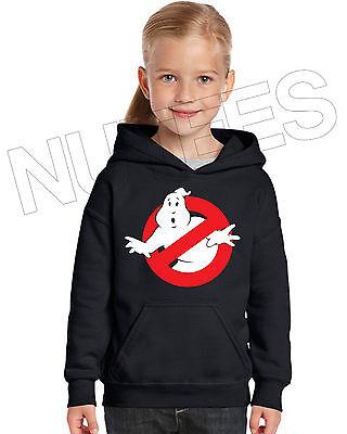Ghost Busters Movie Inspired Kids Unisex Hooded Sweatshirt Hoodie 5-6 to 12-13 2