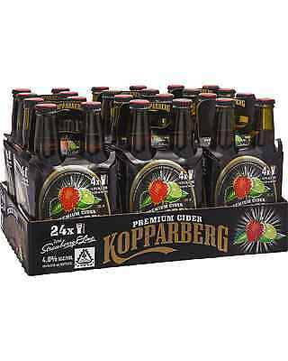 Kopparberg Strawberry & Lime Cider 330mL case of 24 Fruit Flavoured Cider