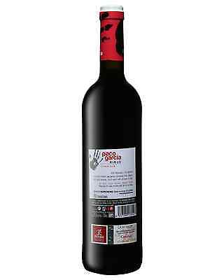 Paco Garc&#237a Crianza Tempranillo 2010 bottle Dry Red Wine 750mL La Rioja 2