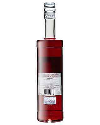 Vedrenne Liqueur de Grenade 700mL case of 6 Liqueurs Fruit Liqueurs Burgundy 2