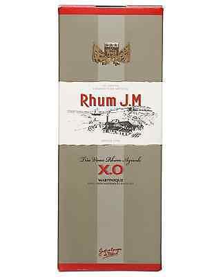 J.M. XO Tres Vieux Rhum Agricole 700mL case of 6 Dark Rum 3