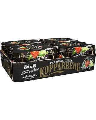 Kopparberg Strawberry & Lime Cider Cans 330mL case of 24 Fruit Flavoured Cider