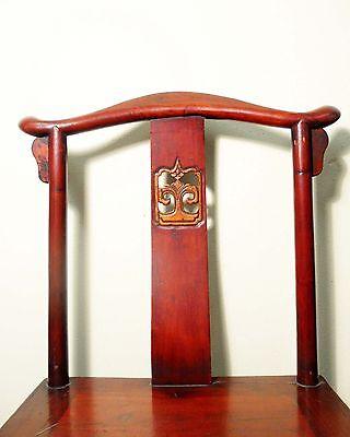 Antique Chinese High Back Chairs (5473) (Pair), Circa 1800-1849 7