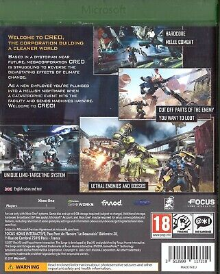 The Surge Microsoft Xbox One 18+ RPG Role Playing Game 2