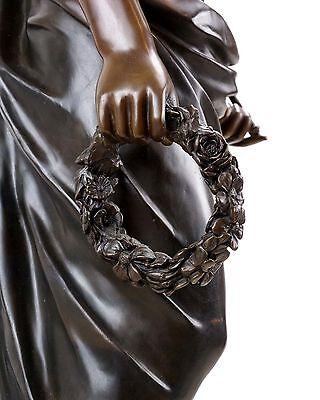 Griega Mitología Estatua de Bronce - Hygieia Diosa de la Salud- Limitada 5