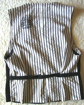VEST gilet vintage 90's COSTUME NATIONAL C'N'C  made in Italy 52/38-L circa 4