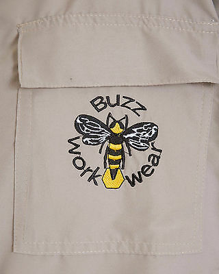 Lightweight BUZZ Beekeepers Bee suit - Colour latte, Size: SMALL 8