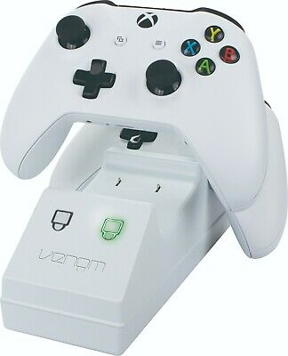 Venom Xbox One Twin Charging Station with 2 Rechargeable Battery Packs - White 5