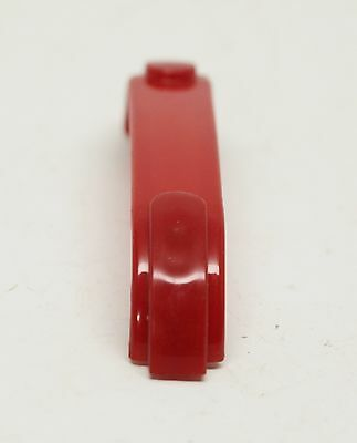 Uniquely Designed Red Vintage Plastic Bridge Pull 5