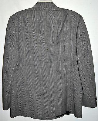 Antonio Parillo Signature Collection Gray Plaid Mens Wool Sport Coat Sz 42 R 3
