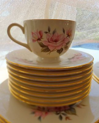 4 of 5 Royal Vale Bone China Made in England Dinnerware set & ROYAL VALE BONE China Made in England Dinnerware set - $575.00 ...