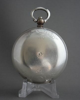 Antique Bronze Grandwizer Ahmet Muhtar Pasha Le Roy a Paris 25Rubis Pocket Watch 3