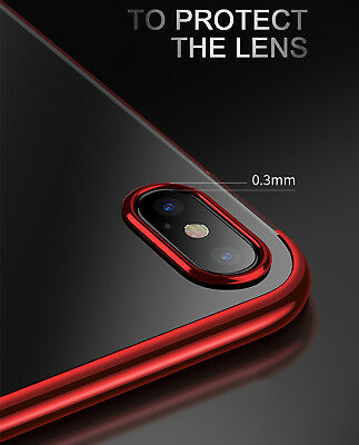 Luxury Ultra Slim Shockproof Silicone Clear Case Thin Cover For Apple iPhone XR 4