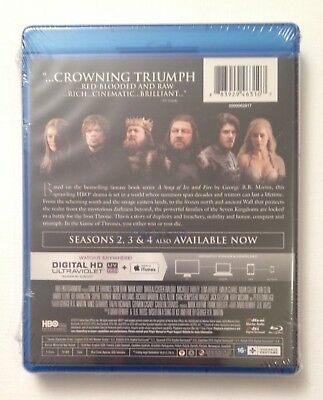 GAME OF THRONES: Complete First Season MINT NEW 5-DISC BLU-RAY SET!! 2